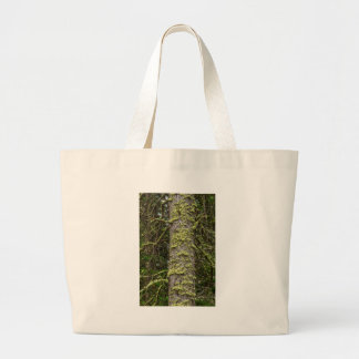 Pine_Tree_Moss Large Tote Bag