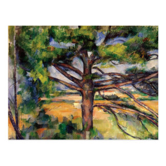 Pine Tree Near Aix by Paul Cezanne Postcard