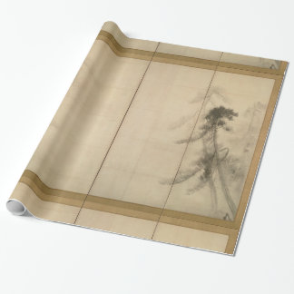Pine Trees by Hasegawa Tohaku 16th Century Wrapping Paper