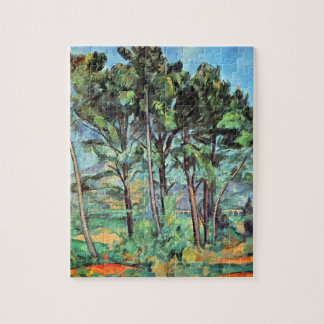 Pine with Viaduct by Paul Cezanne, Vintage Art Jigsaw Puzzle
