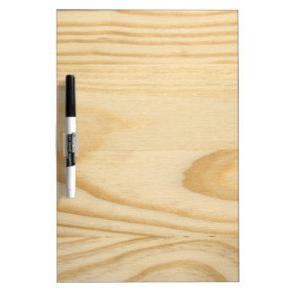 Pine Wood Texture Background Dry Erase Board