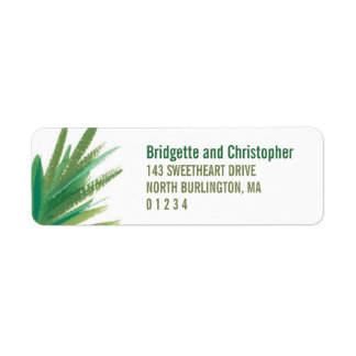Pine Woods Watercolor | Return Return Address Label