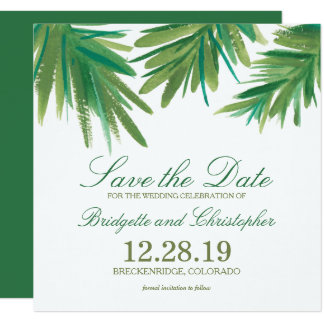 """Pine Woods Watercolor 