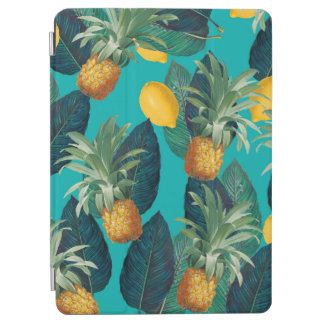 pineaple and lemons teal iPad air cover