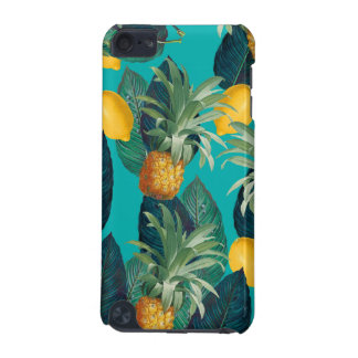 pineaple and lemons teal iPod touch 5G cover