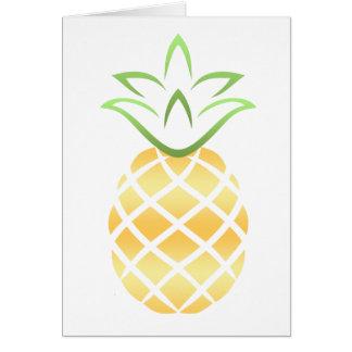Pineapple Aloha Hawaii! Card