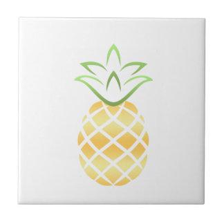 Pineapple Aloha Hawaii! Tile