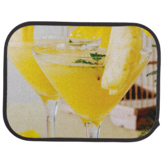 Pineapple and ginger Fresca cocktail Car Carpet