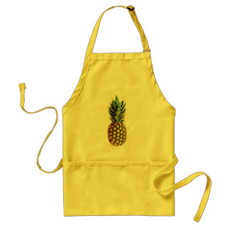Pineapple aprons | yellow