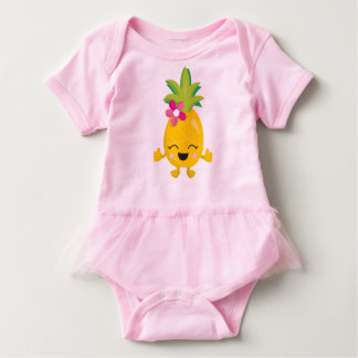 Pineapple Baby Bodysuit