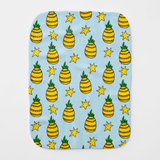 Pineapple Baby Burp Cloth