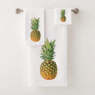 Pineapple Bath Towel Set