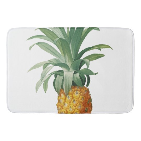Pineapple Bathroom Mat