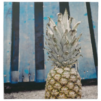 Pineapple By The Beach Napkin