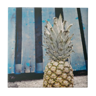 Pineapple By The Beach Tile