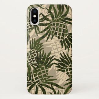 Pineapple Camo Hawaiian Tropical - Khaki Case-Mate iPhone Case
