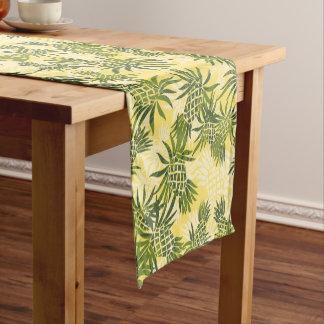 Pineapple Camo Hawaiian Tropical Short Table Runner