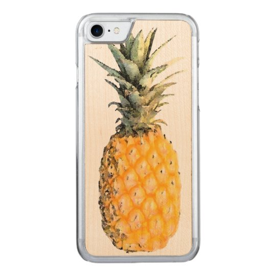 pineapple carved iPhone 7 case