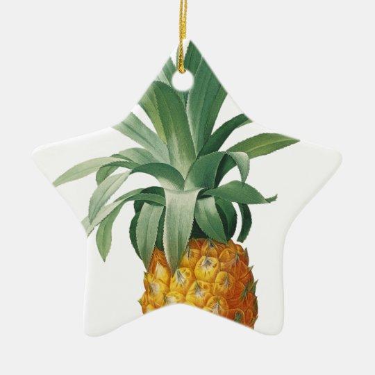 Pineapple Ceramic Star Ornament