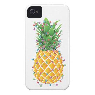 Pineapple Christmas Tree iPhone 4 Case