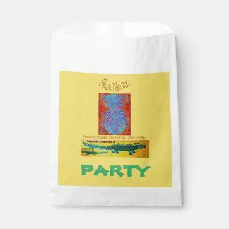 Pineapple Croc Birthday Favor Favour Bag