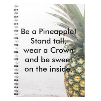 Pineapple Crown Notebooks