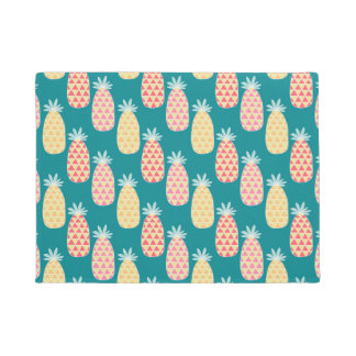 Pineapple Doodle Pattern Doormat