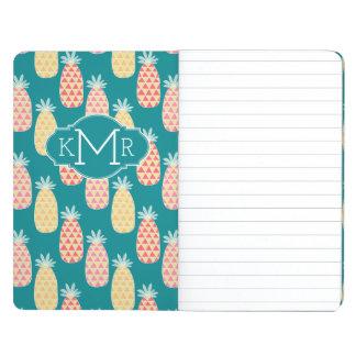 Pineapple Doodle Pattern | Monogram Journals