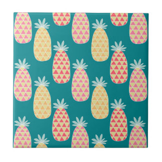 Pineapple Doodle Pattern Tiles