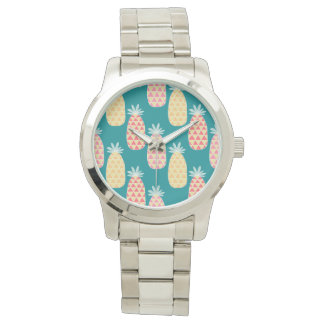 Pineapple Doodle Pattern Wristwatches