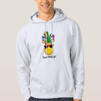 Pineapple Dressed Up for the Holidays! Hoodie