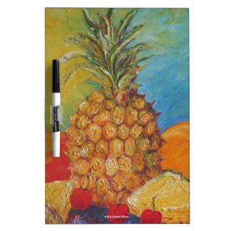 Pineapple Dry Erase Board