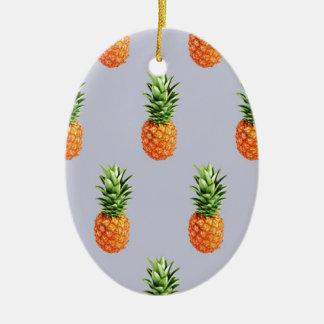 Pineapple Express Ceramic Ornament