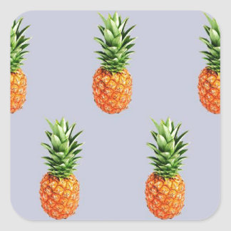 Pineapple Express Square Sticker