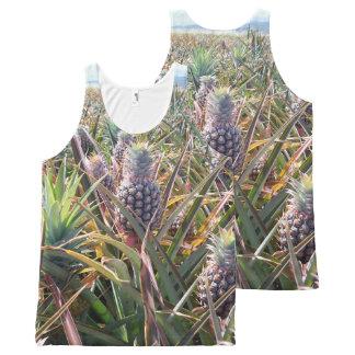 Pineapple Field Tank Top