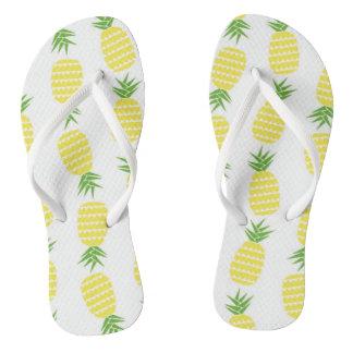 Pineapple flip-flops flip flops