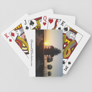 Pineapple Fountain Playing Cards