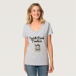 Pineapple Fourth 4th Grade Teachers T-Shirt