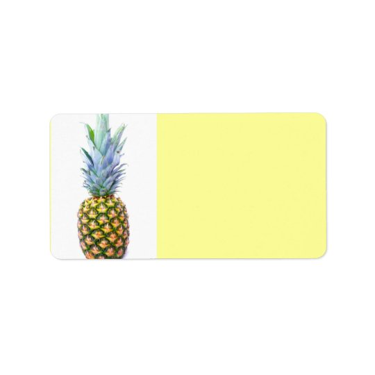 Pineapple Fruit Beach Dessert Colourful Tropical