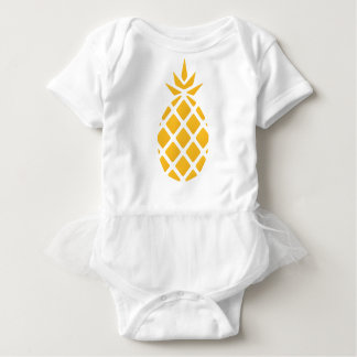 pineapple, fruit, logo, food, tropical, citrus, ye baby bodysuit