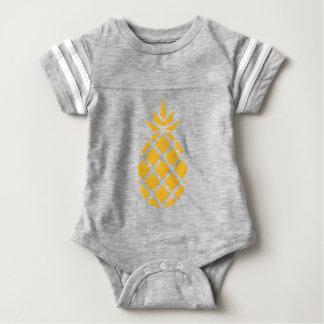 pineapple, fruit, logo, food, tropical, citrus, ye baby bodysuit