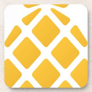 pineapple, fruit, logo, food, tropical, citrus, ye coaster
