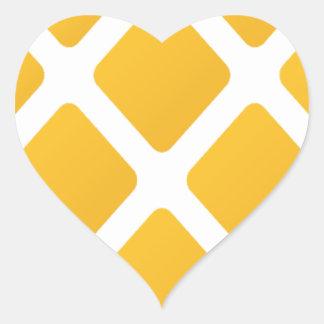 pineapple, fruit, logo, food, tropical, citrus, ye heart sticker