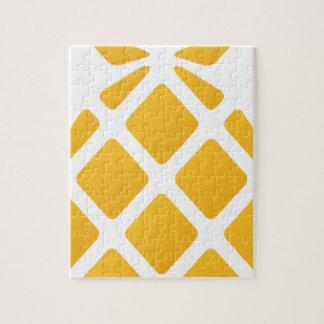 pineapple, fruit, logo, food, tropical, citrus, ye jigsaw puzzle