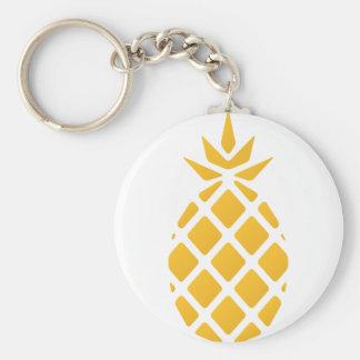 pineapple, fruit, logo, food, tropical, citrus, ye keychain