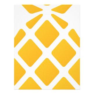 pineapple, fruit, logo, food, tropical, citrus, ye letterhead