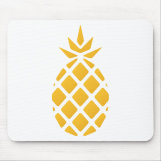 pineapple, fruit, logo, food, tropical, citrus, ye mouse pad