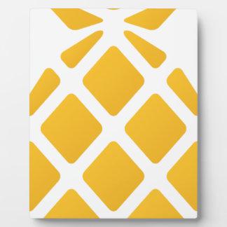 pineapple, fruit, logo, food, tropical, citrus, ye plaque