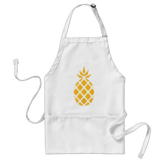pineapple, fruit, logo, food, tropical, citrus, ye standard apron
