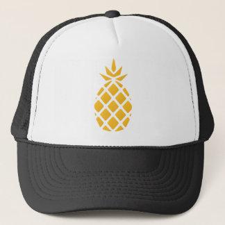 pineapple, fruit, logo, food, tropical, citrus, ye trucker hat